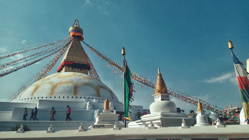 Boudhanath Stupa Religion Architecture Spirituality Travel Destinations World Heritage Site By UNESCO PhonePhotography EyeEmNewHere EyeEm Selects