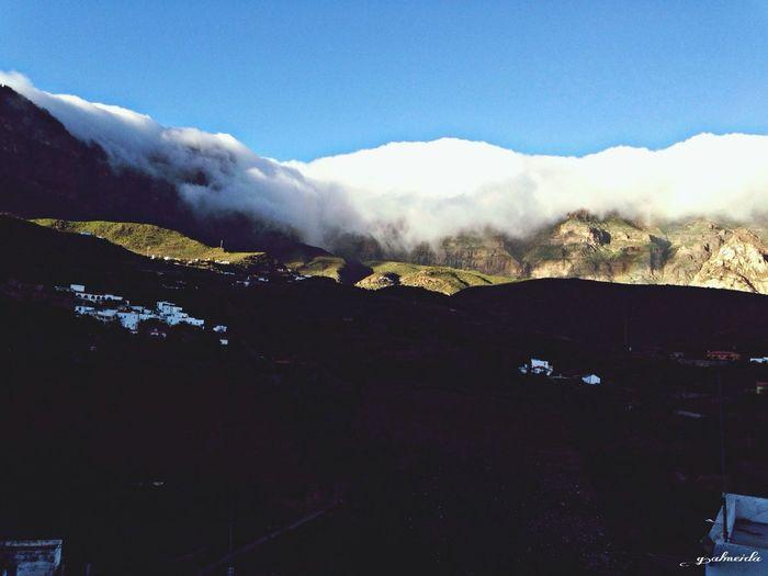 Cloudporn Relaxing Gran Canaria Landscape