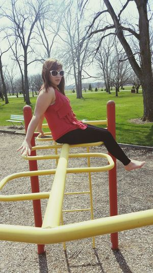 Sunglasses Tank Top Fashion Ootd Park Hanging Out Taking Photos Check This Out That's Me