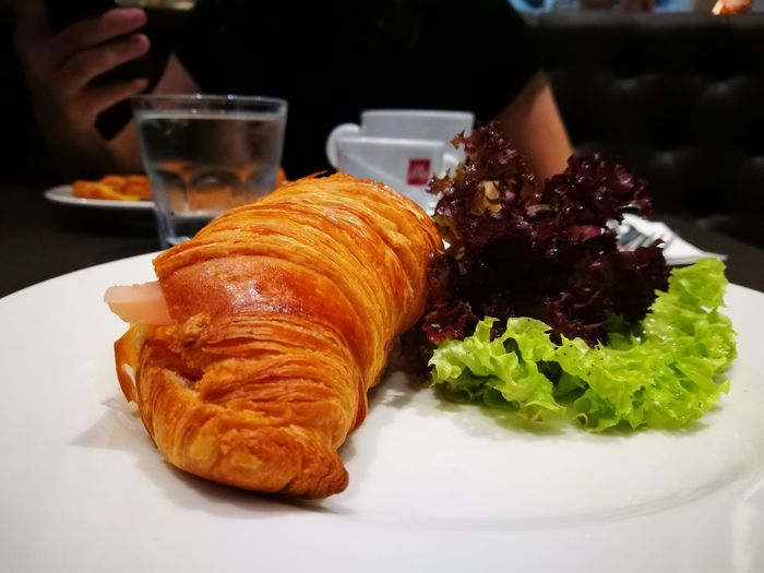 Illy Caffe KLCC French Food Croissant Food And Drink Food Freshness Plate Meal