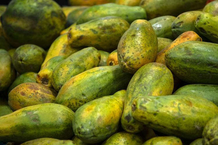 Full frame shot of fruits for sale at market stall