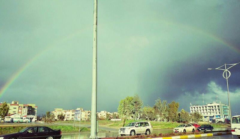 Iraq Kurdstan Slemani Winter Renbow Nature