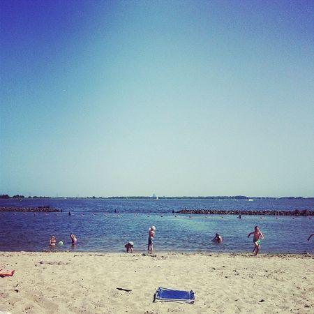 Lekker dagje Strand Naarden Zon Gooimeer genieten