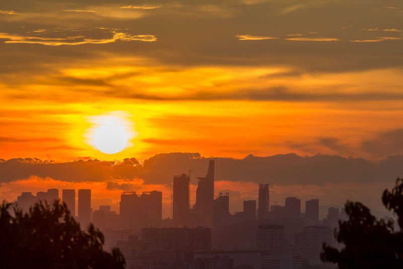 Another side of Kuala Lumpur City Cityscape No People Orange Color Outdoors Silhouette Sky Sunset Travel Destinations