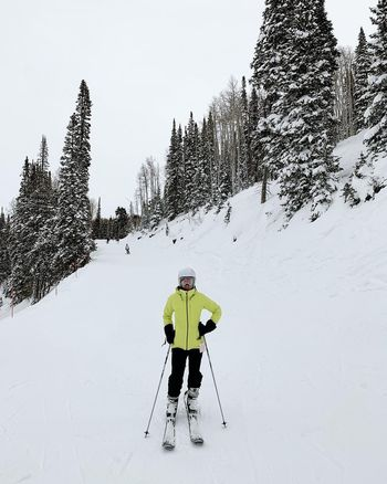sunday morning coming down. 🏔⛷🎼 Deer Valley Utah Park City, Utah Wasatch Back Wasatch Mountains Snow Mountain Winter Cold Temperature Winter Sport Adventure Clothing