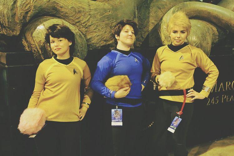 DragonCon Star Trek Tribbles