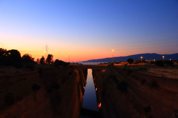 Sunrise Sunrise Colors Corinth Canal Corinth Greece Bridge View Bridge - Man Made Structure Bridge Over Water Corinth Bridge Bridge Landscape Colorful Tranquil Scene Backgrounds Sea Colors  Nature Travel Destinations Greece GREECE ♥♥ EyeEm Nature Lover Beauty Beauty In Nature Architecture No People Week On Eyeem Vacations