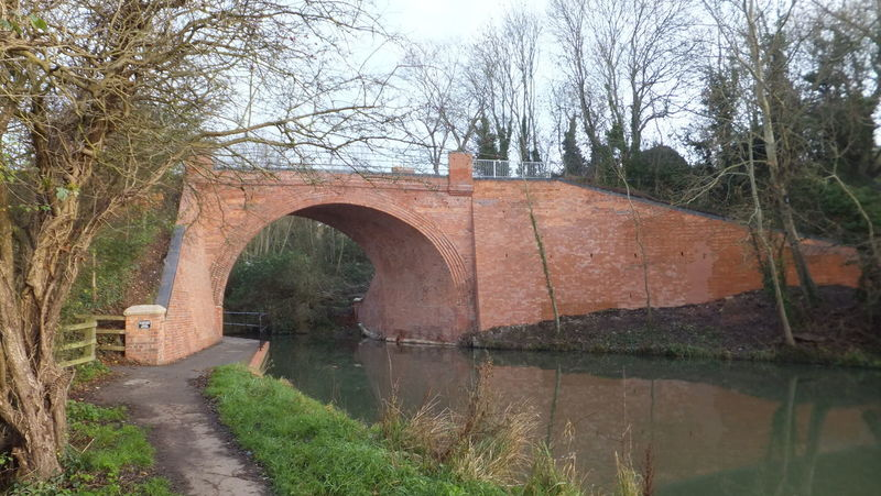 Arch Architecture Bridge Canal Connection Old Restored Skew