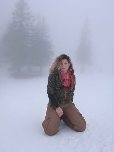 EyeEmNewHere #foggy #Snowboarding #wintertime Winter Snow Cold Temperature Warm Clothing Weather