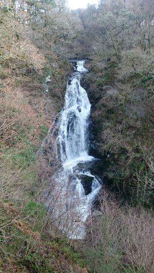 Black Spout Waterfall Pitlochry Scotland Waterfall Walking Taking Photos Nature Cold Days Eye Em Scotland Eyem Nature Lovers