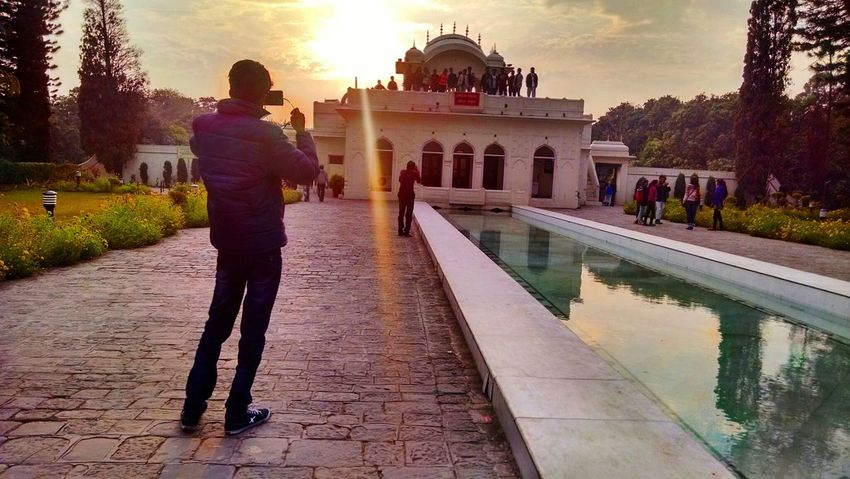 Travel Destinations Architecture Built Structure Travel Tourism Full Length Sunset People Men Outdoors Pinjore Garden♥ Trip Northindia