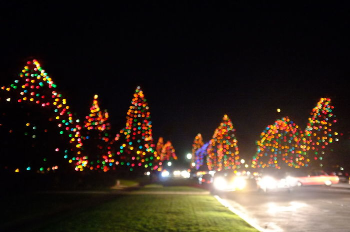 Christmas San Marino St Albans Car Celebration City Illuminated Multi Colored Night No People Outdoors Road Sky