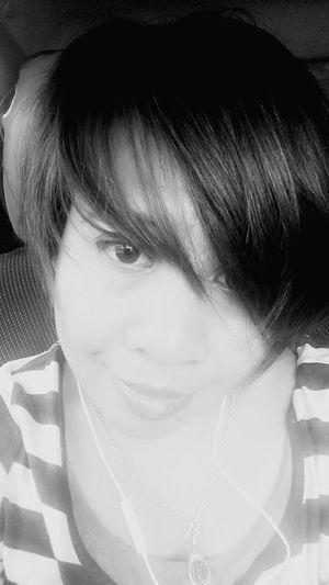 Black and white Kureisaki That's Me Salfie Portrait Black&white