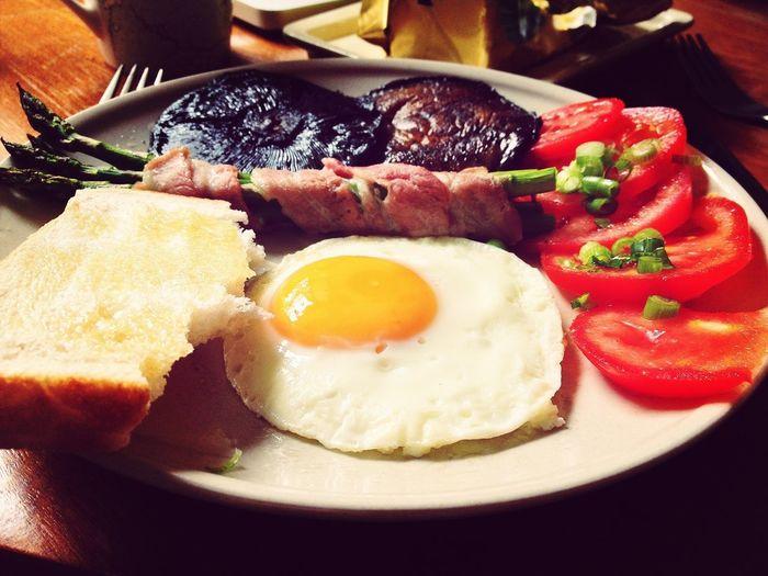 Very late Breakfast