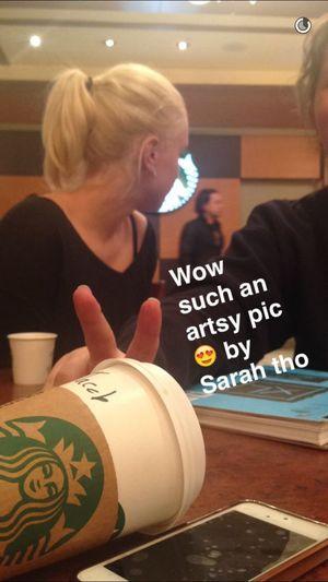 Wow so Artsy Starbucks