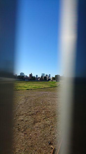 千駄ヶ谷ホープ軒まで行ったので近くの 国立競技場の跡地を見てきました。 Vacant Lot Clear Sky Blue Sky Buildings Bokeh ぼけ Bokeh Photography Street Photography From My Point Of View 新国立競技場