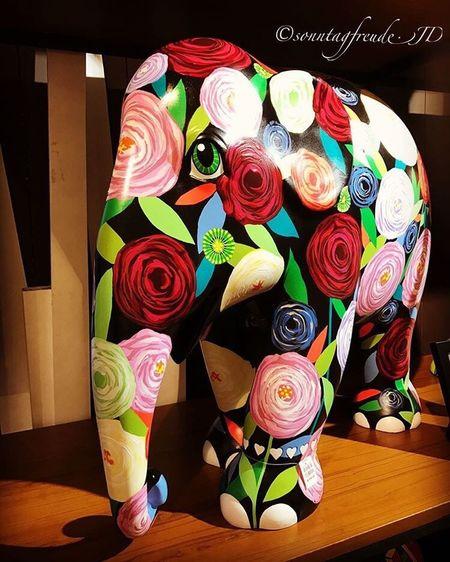 ❤️Rambling Rose by Nipon Kaewkumdee Eye4photography  EyeEm IPhoneography Symbolism Elephant Elephantparade Mosha Ramblingrose Art Dosomething Travelingherd2016 Photography Multi Colored Vibrant Color 7thru5shadesof21 🐇