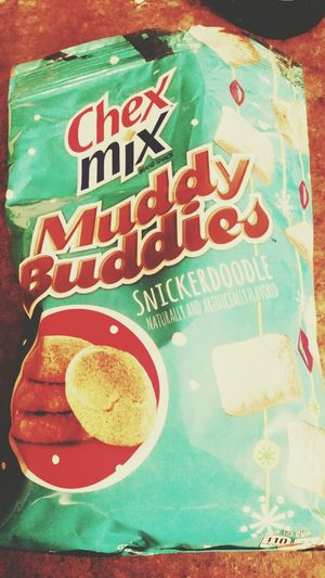 These are heaven. Snacks Chexmix Muddybuddies Snickerdoodle