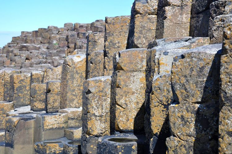 Giants Causeway County Antrim Giant's Causeway Giants Causway Northern Ireland Rock Formations Rocks The Giants Causeway