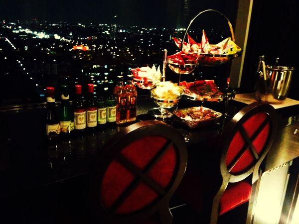 Beautiful Happyday Love♥ Love Night View Bar Night