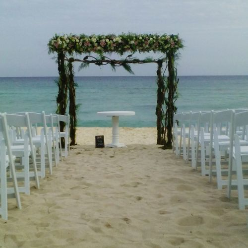 Ceremony Beach Wedding Bluevenado Wedding Details Wedding Decoration Marido Y Mujer Wedding Day❤ Wedding Decor Wedding Day Day Outdoors No People Wedding Private Weddings Celebration Chairs Sea Caribbean Gazebo Gazebo And Nature Gazebo On The Beach Floral Gazebo Floral Arrangment Let's Go. Together.