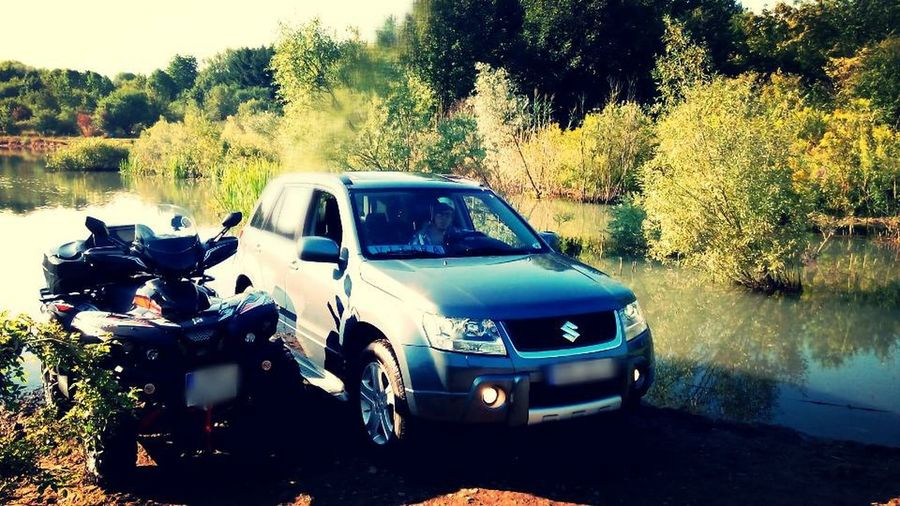 Suzuki grand vitara comfort+ feat Quad Access Amx 750 am Wasser Landscape Relaxing Check This Out