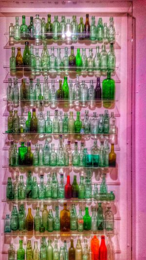 For The Love Of Colour Glass 99 Bottles Of Beer On The Wall Taking Photos