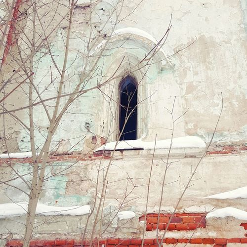 No People Architecture Built Structure Day Outdoors Building Exterior Close-up Red Architecture Tree Sky Arch Low Angle View Travel Destinations History Castle Alexin Pattern Russia Winter Window White Background