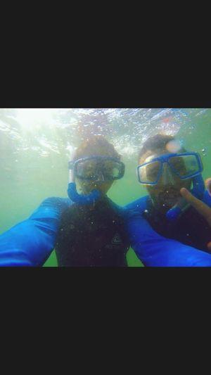 Living Bold Snorkling Underwater Australia