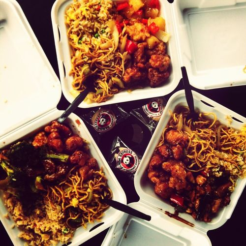 Chinese food is THE BEST <3 ??