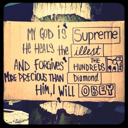 OBEY Supreme Diamonds Illest The Hundreds