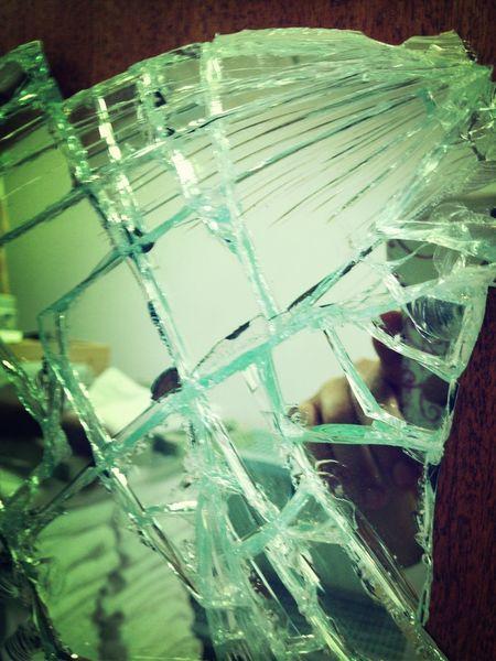 Broken Mirror At Work