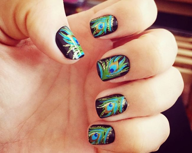 Nails on point. 💅🏻 Nails Done Stickers Loveit♥ Easytodo That's Me 5minutes