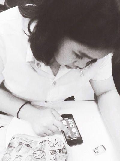 Physics Class. Studying Self Portrait Mae Fah Luang University in Chiang Rai