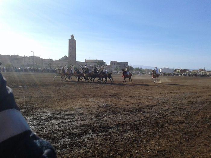 art traditionel Festival Season Horses Morocco Art Art Tboreda Art Traditionel Group Of People Real People Tbourida EyeEmNewHere