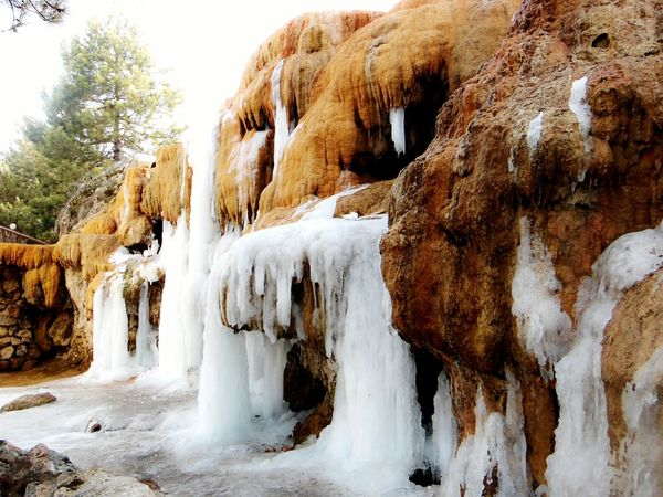 Samsungphotography Eyemphotography Samsung Smart Camera Antalyaturkey View Cold Winter ❄⛄ Cold Weather Frozen Water Freezing ❄ Frozen Waterfall