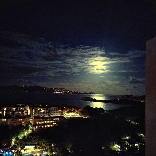 Night Cloud - Sky Sky Water Reflection Sea Illuminated Travel Destinations Horizon Over Water AndroidPhotography Taking Photos Lgg6 Lg-g6 EyeEm Gallery LG G6 Lg_g6