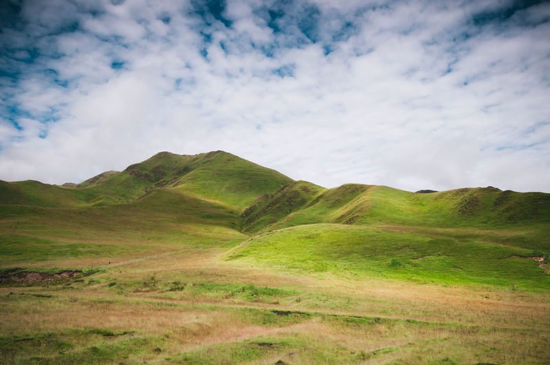 Dream land Beauty In Nature China Countryside Dream Fantasy Fine Art Photography Gannan Grass Grassland Green Color Hill Landscape Mountain Nature Scenics Tour Tourism Tranquil Scene Tranquility Travel Travel Destinations