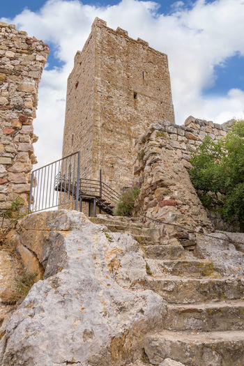 The tower of ancient Castle of Fava in Posada - Sardinia Ancient Ancient Civilization Architecture Building Exterior Built Structure Castello Della Fava Castle Castle Ruin Castle Tower Day Fava Castle History Landscape Landscape Photography Low Angle View Nature No People Outdoors Posada Sardinia Sardinia Sardegna Italy  Sky Tower