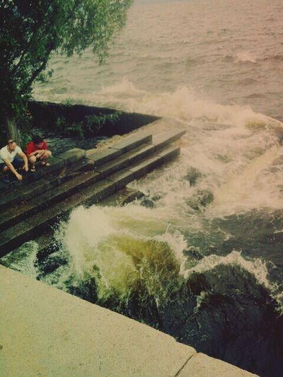 Famous River Volga Natural Waves