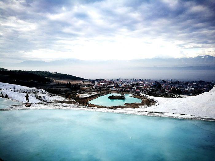 Hierapolis Thermal Pool Pamukkale Cotton Castles