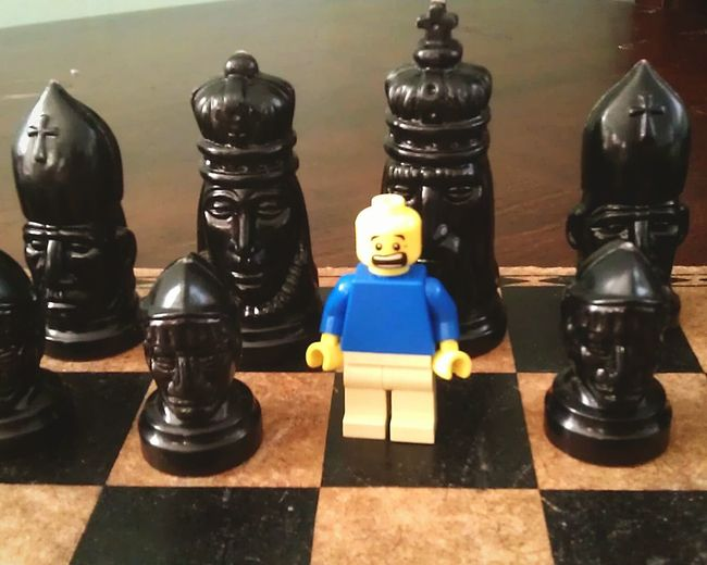 LEGO Chess Chessboard Chesspieces Minifigure TLPhoto Misplaced Lego Legophotography Macro