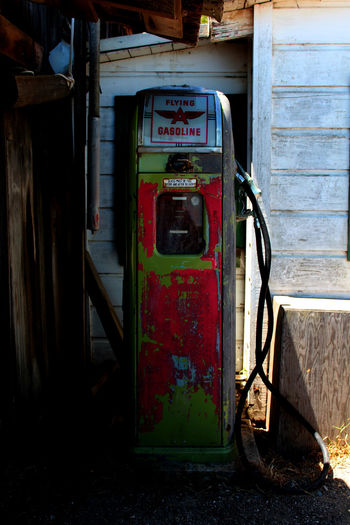 Abandoned Abandoned & Derelict Close-up Day Fossil Fuel Fuel And Power Generation Fuel Pump Gas Station Gasoline No People Outdoors Pay Phone Red Refueling Retro Rusty Technology Vintage