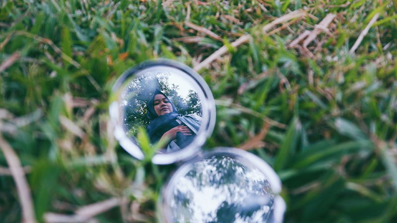 Mix Yourself A Good Time Reflection Nature Grass Outdoors Eyeem Photo Of The Week EyeEm Photo Of The Day The Week On EyeEm People Freshness Only Women Nature Bandung, West Java INDONESIA