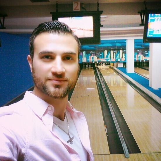 That's Me Bowling(: Quality Time Happy Good Times :))✌️✌️😎✌️✌️ Bowling Saeed Ebadzadeh
