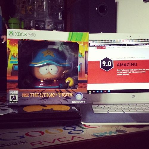 Southpark Thestickoftruth Highlyrated IGN gave it a 9 xbox360 xbl newrelease grandwizardedition :)