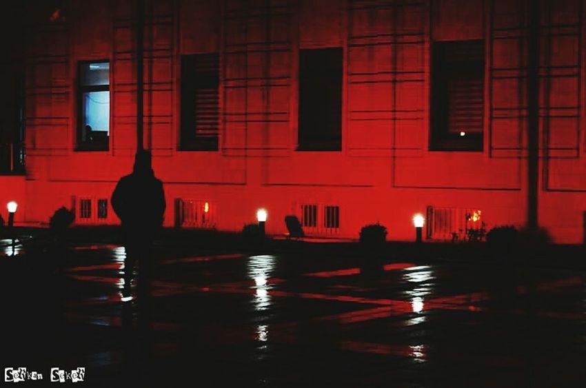 Eskişehir Eskisehirmanzarasi Silhouette Night Lights Valilik Eskişehirspor Streetphotography