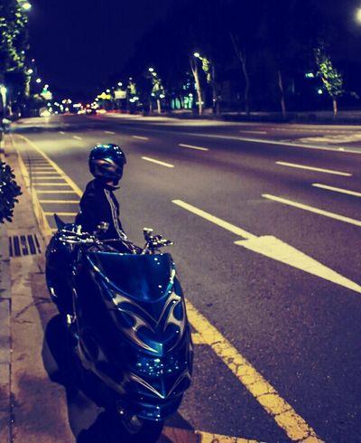 나의 즐거운 취미이자 일인 바이크. Korea Seoul Bike Scooter