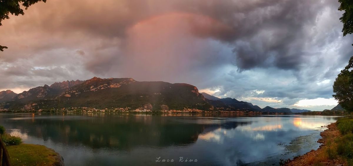 Skyfall Skyfall Nuvole Lago Di Como, Italy Water Tree Mountain Sunset Lake City Reflection Sky Landscape Cloud - Sky Storm Cloud Thunderstorm Storm Sky Only Dramatic Sky Extreme Weather Dramatic Landscape Lightning Power In Nature Overcast Torrential Rain