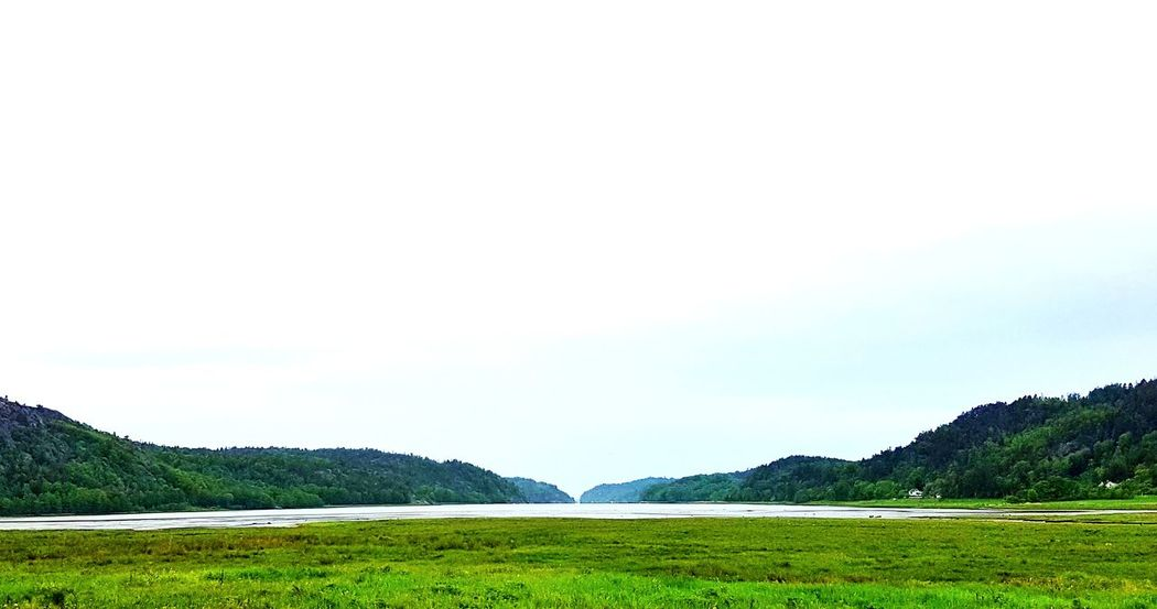 Beyond is sea Mountain Beauty In Nature Nature Landscape Outdoors No People Green Color Day Rural Scene Water Scenics Sky Freshness Sweden Sweden Nature Sweden-landscape Västkusten WestCoast Along The Way Roadtrip Road Sweden ❤️